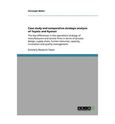 case study and comparative strategic analysis of toyota and ryanair