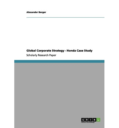 case study fedex corporation strategic management by alexander berger Fedex: negative thesis maintained – fedex corporation (nyse 20 sep 2017 fedex reported mixed fq1 results due to one-time business hits from a cyberattack.