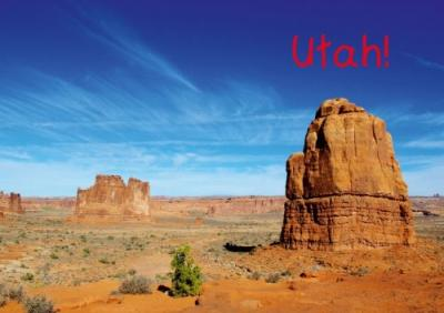 Utah! / UK-Version (Poster Book DIN A3 Landscape) : A trip through spectacular natural beauties of Utah. (Poster Book, 14 pages)
