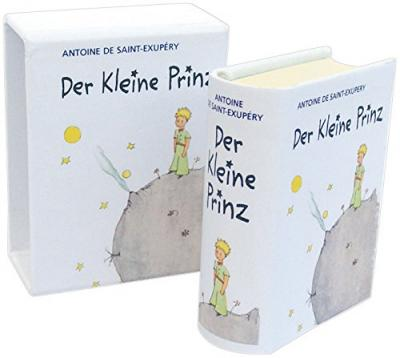 der kleine prinz miniaturausgabe antoine de saint exupery 9783792000410. Black Bedroom Furniture Sets. Home Design Ideas