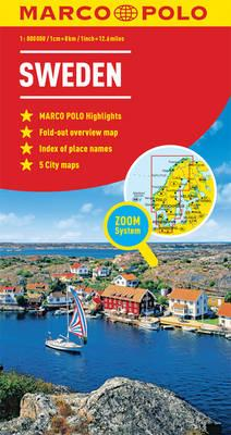 Sweden Marco Polo Map