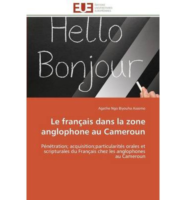 Cameroon anglophone writing a book