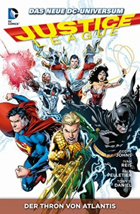 Justice League 3 - Der Thron von Atlantis