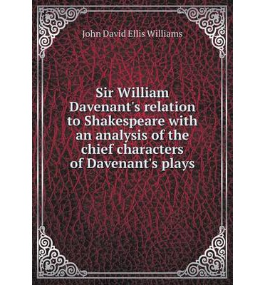 an overview of the characters in the play hamlet by william shakespeare Free essay: analysis of hamlet in william shakespeare's play shakespeare's hamlet is at the outset a typical revenge play however, it is possible to see.