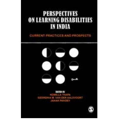thesis on learning disabilities in india Students with learning disabilities: the effectiveness of using assistive technology abstract the study focuses on the effectiveness of assistive technology devices.