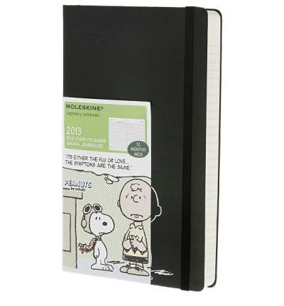 2013 Moleskine Peanuts Large 12 Month Daily Diary