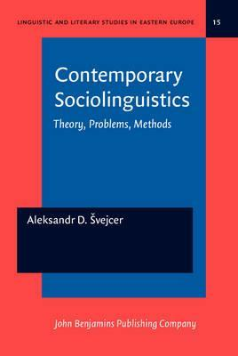 Descargando google books a pdf Contemporary Sociolinguistics : Theory, Problems, Methods (Spanish Edition) PDF PDB by A. D. Svejcer