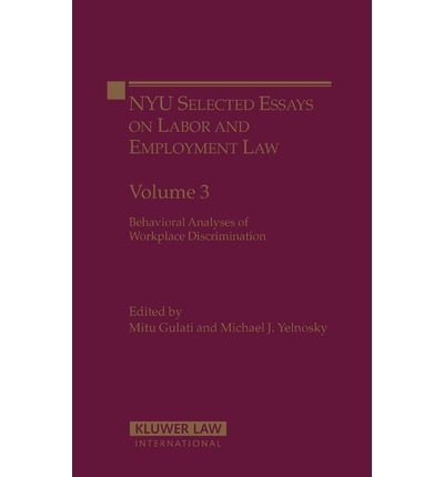 ... Law Employment & Labour Law Discrimination In Employment Law