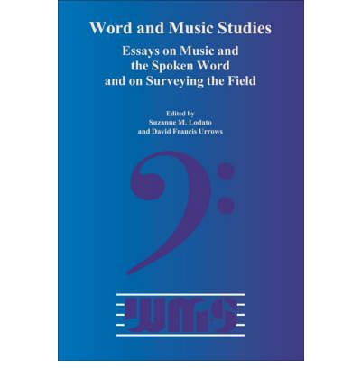 Word and Music Studies: Volume 17