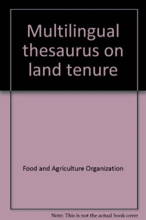 Multilingual thesaurus on land tenure food and for Cuisine thesaurus