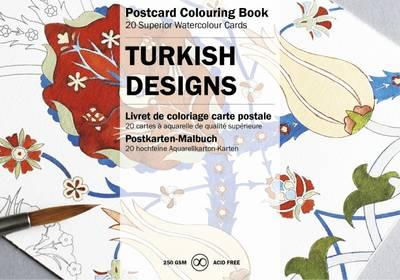 Turkish Designs: Postcard Colouring Book
