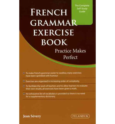 french grammar exercise book jean severy 9789679789782. Black Bedroom Furniture Sets. Home Design Ideas