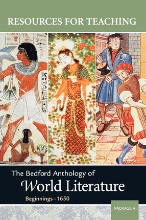 The Bedford Anthology of World Literature, Package a