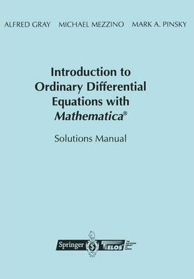 Introduction to Ordinary Differential Equations with Mathematica