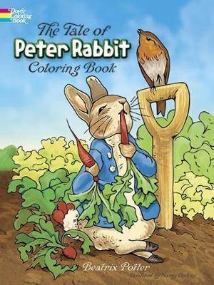 The Tale Of Peter Rabbit Colouring Book Beatrix Potter 9780486217116