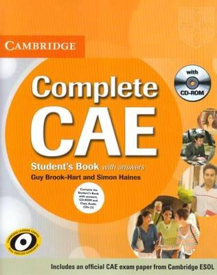 Complete CAE Student's Book Pack (Student's Book with Answers with CD-ROM and Class Audio CDs (3))