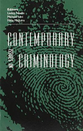 Contemporary Issues in Criminology
