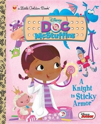 a knight in sticky armor (disney junior: doc by andrea posner-sanchez
