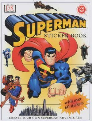 Superman Sticker Book