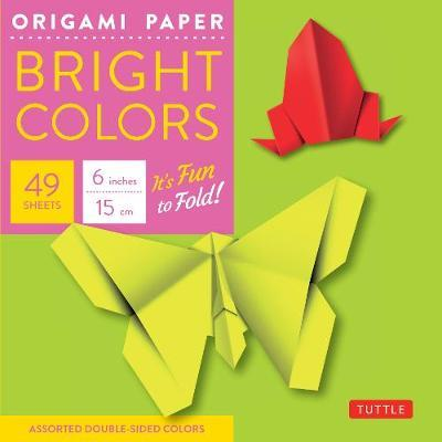 """Origami Paper - Bright Colors - 6"""" - 49 Sheets"""