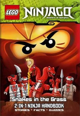 LEGO Ninjago 2-in-1 Ninja Handbook: The Bravest Ninja of All/Snakes in the Grass