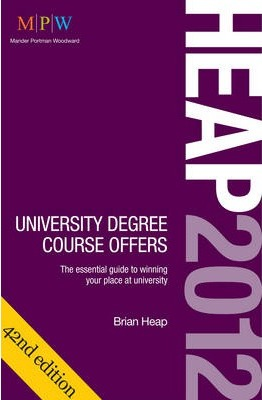 Heap: University Degree Course Offers 2012