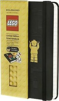 Moleskine Limited Edition Lego Yellow Brick Pocket Ruled Notebook Black Cover