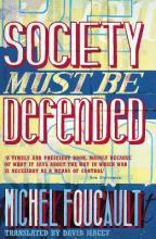 Society Must be Defended