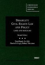 Disability Civil Rights Law and Policy