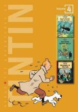 Adventures of Tintin 3 Complete Adventures in 1 Volume: WITH The Seven Crystal Balls AND Prisoners of the Sun