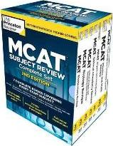 Princeton Review MCAT Subject Review Complete Boxed Set