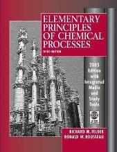 Elementary Principles of Chemical Processes: Integrated Media and Study Tools