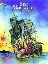 Sea Monsters Colouring Book
