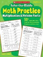 Solve-The-Riddle Math Practice, Grades 2-4