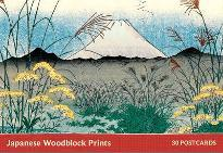 Japanese Woodblock Print Postcard Book