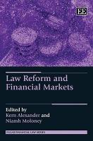 Law Reform and Financial Markets
