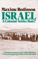 Israel: A Colonial -Settler State?