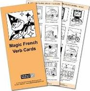 Magic French Verb Cards