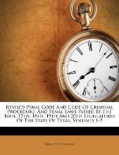 Revised Penal Code and Code of Criminal Procedure