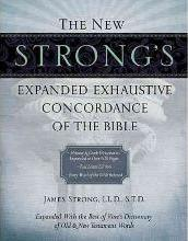 The New Strong's Expanded Exhaustive Concordance of the Bible: Supersaver