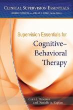 Supervision Essentials for Cognitive-Behavioral Therapy