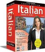Instant Immersion Italian Family Edition 1-2-3