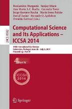 Computational Science and its Applications - ICCSA: Part IV