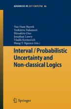 Interval / Probabilistic Uncertainty and Non-Classical Logics