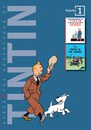 """The Adventures of Tintin: """"Tintin in the Land of the Soviets"""", """"Tintin in the Congo"""" Volume 1"""