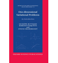 One-dimensional Variational Problems