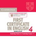 Cambridge First Certificate in English 4 for Updated Exam Audio CDs (2) - Cambridge ESOL