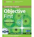 Objective: Objective First Student's Book without Answers with CD-ROM