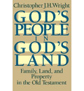 God's People in God's Land - Christopher J H Wright