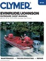 Evinrude/Johnson Outboard Shop Manual, 48-235 HP, 1973-1990 (Includes Electric Motors)